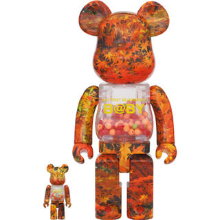 MEDICOM TOY - MY FIRST BE@RBRICK B@BY AUTUMN LEAVES 2G