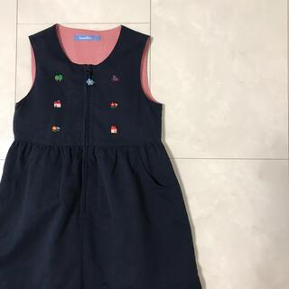 familiar - familiar お家 ジャンパースカート 120