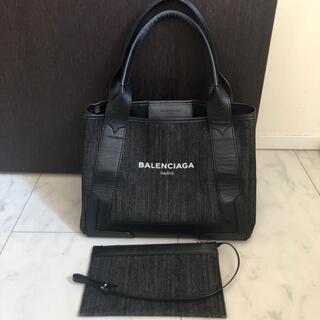 Balenciaga - バレンシアガ キャンパストート、デニム、ブラック