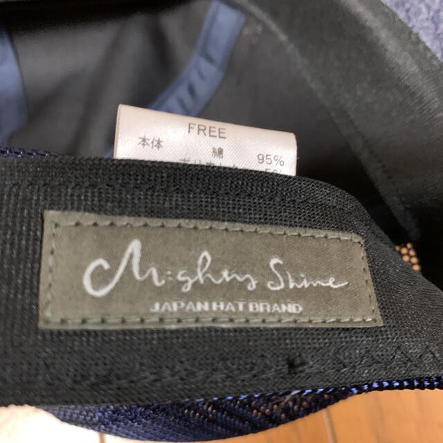 MIGHTYSHINEキャップ メンズの帽子(キャップ)の商品写真