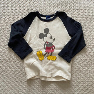 Disney - ライトオン mickey ラグランTシャツ ロンT トレーナー 110 120
