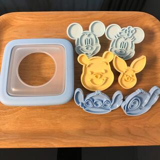 カイジルシ(貝印)のキャラサンドセット ディズニー(調理道具/製菓道具)