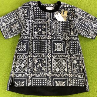 サカイ(sacai)のsacai  reyn spooner バンダナ tシャツ(Tシャツ/カットソー(半袖/袖なし))