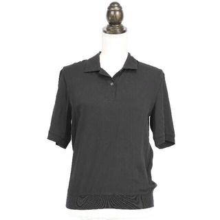 セオリー(theory)の[theory]ブラック ポロシャツ レディースSサイズ(ポロシャツ)