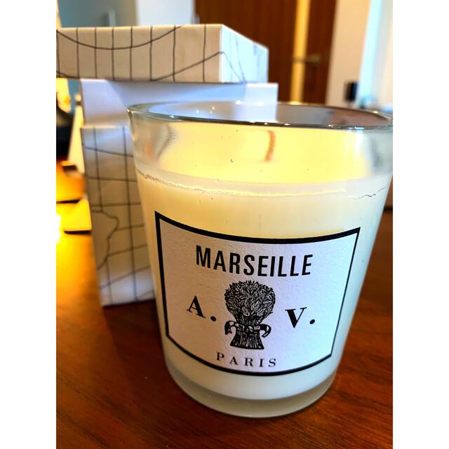 H.P.FRANCE(アッシュペーフランス)のキャンドル ASTIER de VILLATTE MARSEILLE 新品美品! コスメ/美容のリラクゼーション(キャンドル)の商品写真