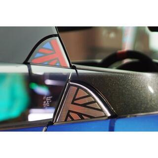 ユニオンジャックステッカー*新型コペン専用 LA400K ローブ セロ xpla(車外アクセサリ)