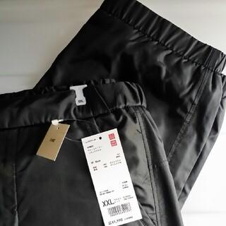 UNIQLO - 新品 XXL ウォームイージートラックパンツ (黒) シャカシャカパンツ