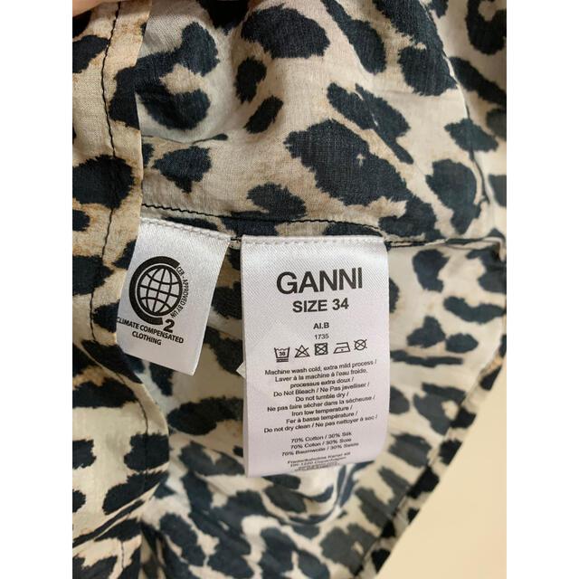 トップス GANNI レディースのトップス(Tシャツ(半袖/袖なし))の商品写真