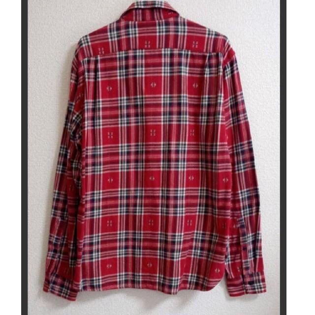 H&M(エイチアンドエム)の【美品】H&M メンズMサイズ ネルシャツ  チェックシャツ メンズのトップス(シャツ)の商品写真
