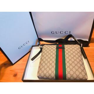 グッチ(Gucci)のgucci\グッチ GGスプリーム メッセンジャーバッグ(メッセンジャーバッグ)