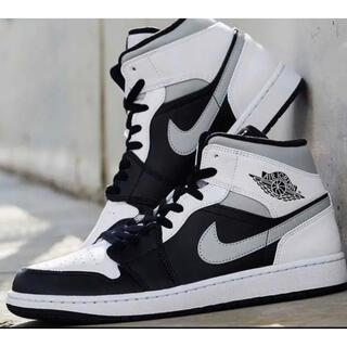ナイキ(NIKE)のNike Air Jordan 1 Mid Shoe WHITE SHADOW(スニーカー)