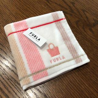 Furla - タグ付き 新品未使用 フルラ タオルハンカチ 綿100% FURLA