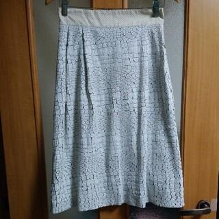 トゥモローランド(TOMORROWLAND)のサポートサーフェス エコレザー スカート(ひざ丈スカート)