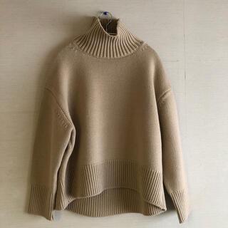 DEUXIEME CLASSE - ドゥーズィエムクラス museウールカシミヤセーター