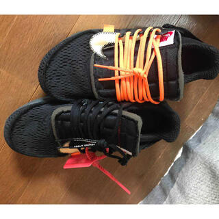 OFF-WHITE - OFF-WHITE × NIKE AIR PRESTO BLACK