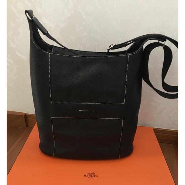 Hermes(エルメス)のクーポン値下 エルメス  グッドニュース  GM 人気 黒系 ショルダーバッグ レディースのバッグ(ショルダーバッグ)の商品写真