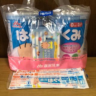 モリナガニュウギョウ(森永乳業)のはぐくみ 2缶(乳液/ミルク)
