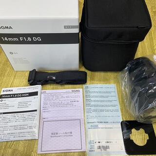 SIGMA - SIGMA 14mmF1.8 DG Canon EF用 フィルターソケット付き