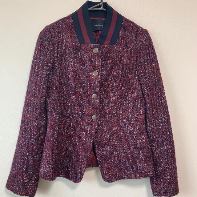 rienda(リエンダ)の美品leory☆ladylikeツイードブルゾン レディースのジャケット/アウター(ブルゾン)の商品写真