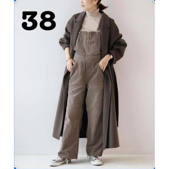 Plage(プラージュ)のPlage ハミルトンベルテッドコート 正規品 カーキ38 レディースのジャケット/アウター(ロングコート)の商品写真