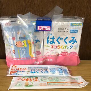 モリナガニュウギョウ(森永乳業)のはぐくみ エコらくパック 2箱(乳液/ミルク)