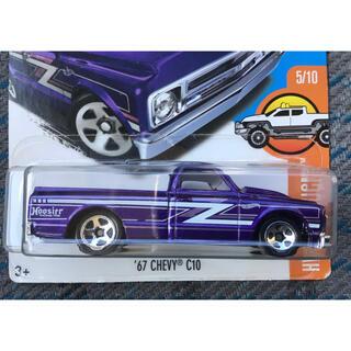 Chevrolet - HW ホットウィール '67 CHEVY C10 パープル 紫 シェビー
