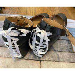 ブラウニー(BROWNY)の厚底パンプス☆可愛い☆M(ローファー/革靴)