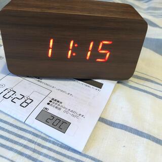 ニトリ(ニトリ)のニトリ デジタル時計 ホルツ(その他)