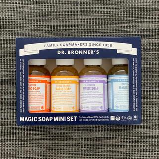 ドクターブロナー(Dr.Bronner)のドクターブロナー マジックソープ ミニセット(ボディソープ/石鹸)