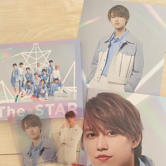 JO1 1stアルバム The STAR 白岩瑠姫セット エンタメ/ホビーのタレントグッズ(アイドルグッズ)の商品写真