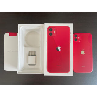 iPhone - iphone11 128gb product RED
