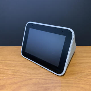 Lenovo - Lenovo smart CLOCK Google Assistant