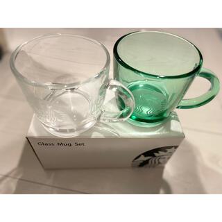 Starbucks Coffee - 【新品】スターバックス ペアグラスマグセット