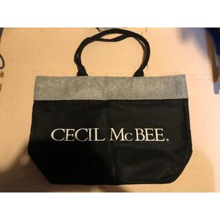 セシルマクビー(CECIL McBEE)のCECILMcBEE不織布ショッパートートバッグ(ショップ袋)