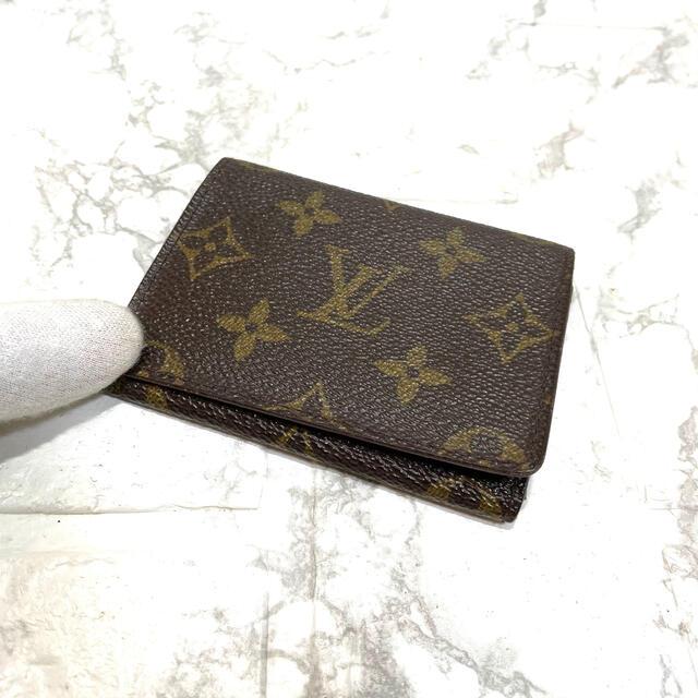 LOUIS VUITTON(ルイヴィトン)の正規品✨ルイヴィトンモノグラム、カードケース、即日発送‼️ レディースのファッション小物(名刺入れ/定期入れ)の商品写真
