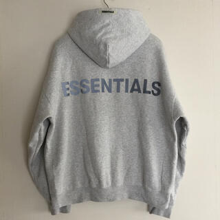 FEAR OF GOD - Fear of God FOG Essentials リフレクターパーカー L