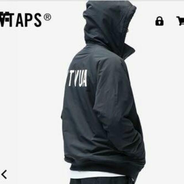 W)taps(ダブルタップス)の【黒 M】Wtaps ダブルタップス 19AW Incom Jacket 20  メンズのジャケット/アウター(ブルゾン)の商品写真