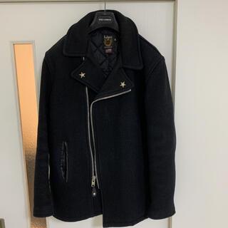 ショット(schott)のSchott (ショット) ウールPコート ブラック サイズ:38(ピーコート)