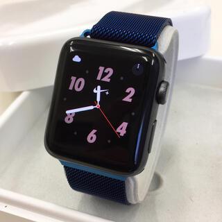 アップルウォッチ(Apple Watch)のApple Watch series2 ナイキ アップルウォッチ 42mm 黒(その他)