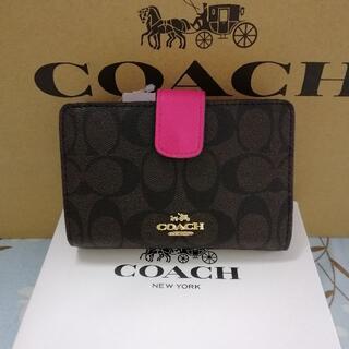 COACH - ★新品未使用★ 送料無料 コーチ COACH 二つ折り財布 F53562