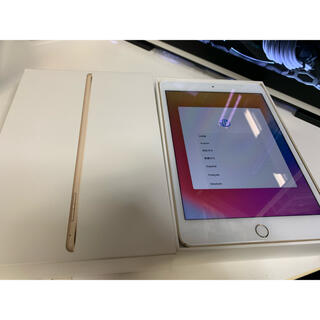 iPad - 【美品】iPad mini4【SIMフリー】ゴールド