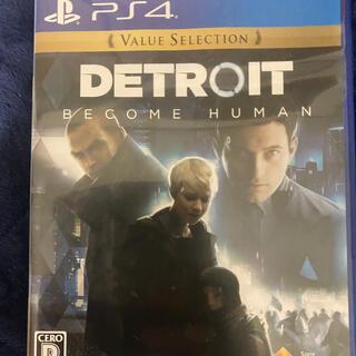 PlayStation4 - デトロイトビカムヒューマン PS4