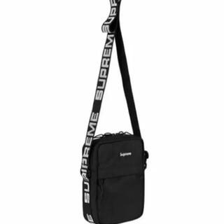 supreme 2018SS shoulder bag black