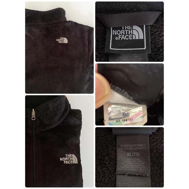 THE NORTH FACE(ザノースフェイス)のザノースフェイス レディース メンズ もこもこフリース ジャケット 黒 メンズのジャケット/アウター(ブルゾン)の商品写真