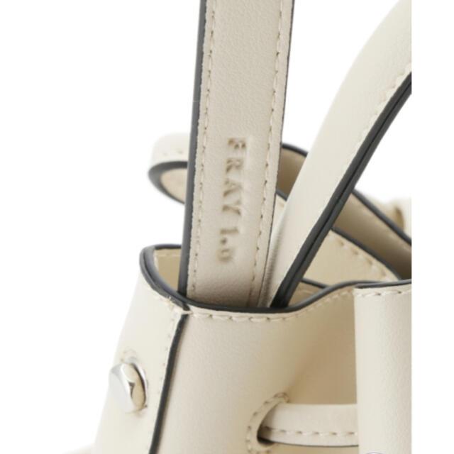 FRAY I.D(フレイアイディー)の【新品】FRAY.ID❁メタルハンドバッグ❁ レディースのバッグ(ショルダーバッグ)の商品写真