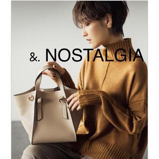 i-SOOK - ノスタルジア 扇形トートバッグ 金子麻貴さん &.NOSTALGIA fifth