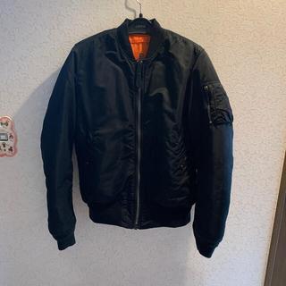 alpha - alpha ma1 Lサイズ 黒 フライトジャケット