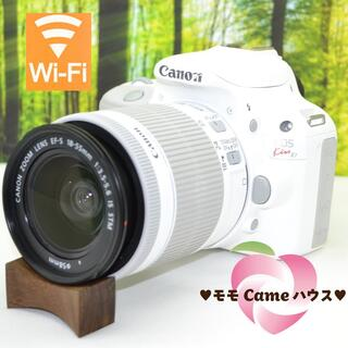 Canon - キャノン Kiss X7♪超可愛い☆真っ白一眼レフ!1185