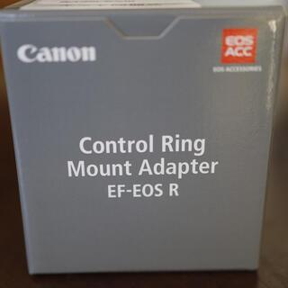 Canon - Canon EF-EOS R コントロールリングマウントアダプター新品