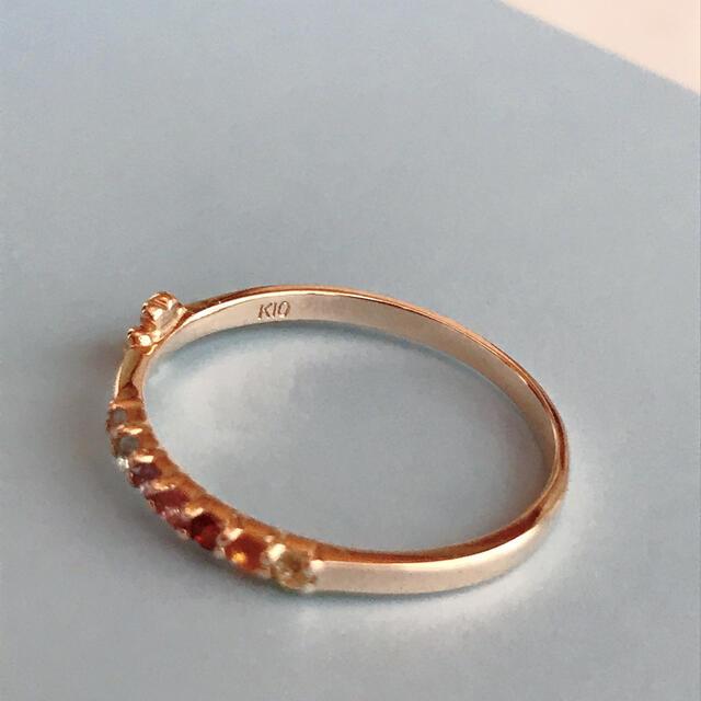 k10 アミュレットリング こんぺいとう様専用 レディースのアクセサリー(リング(指輪))の商品写真